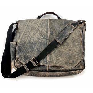 Wilsons Leather Pelle Studio Distressed Bag